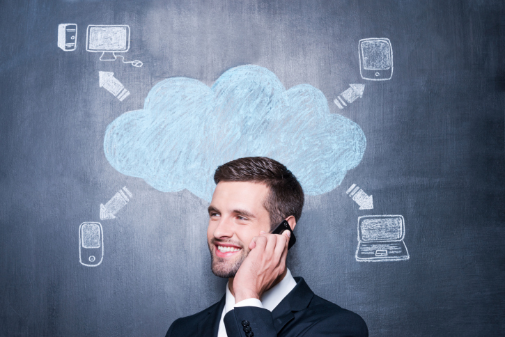 Cloud-based VoIP phone system