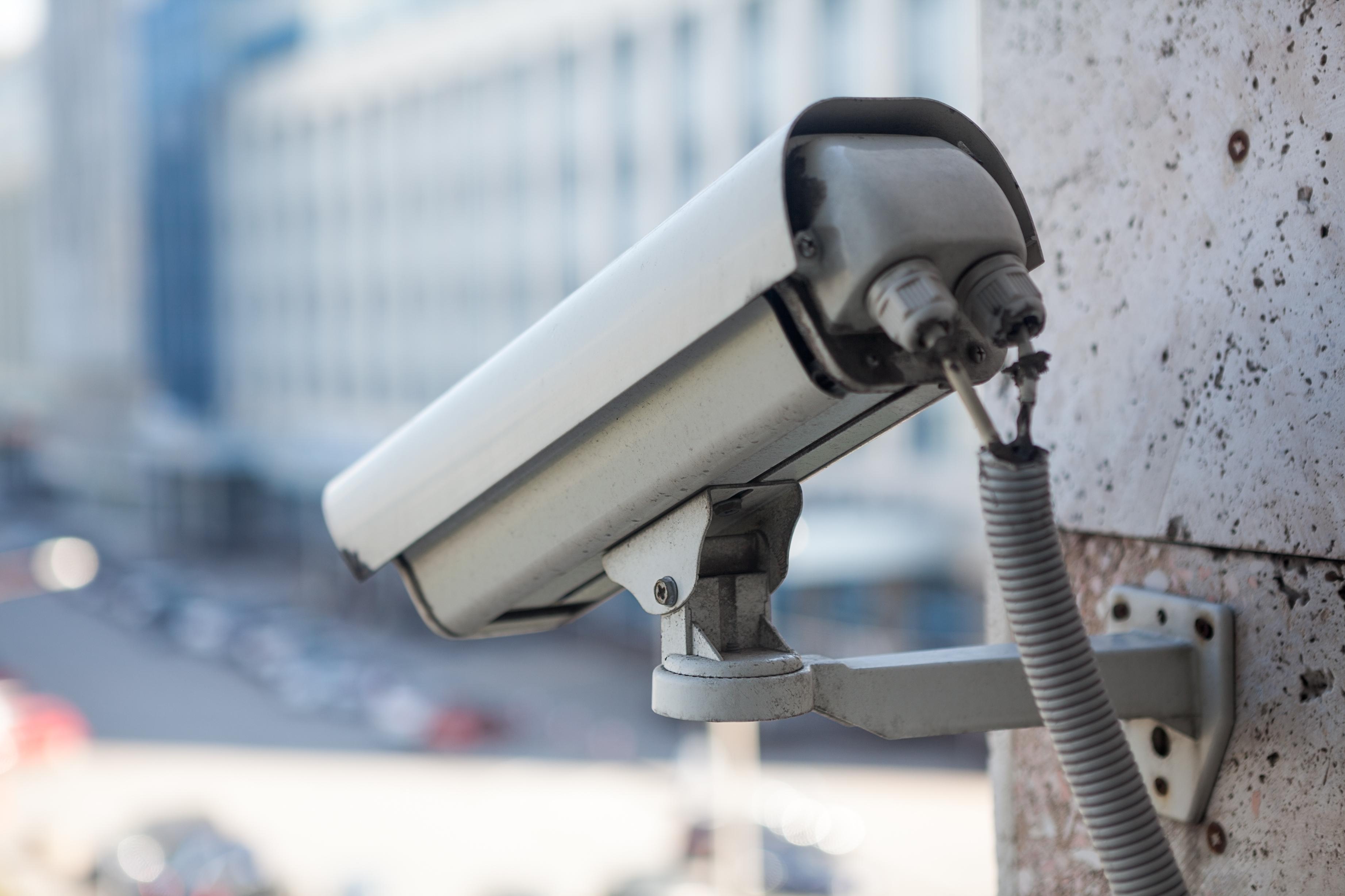video surveillance car dealership